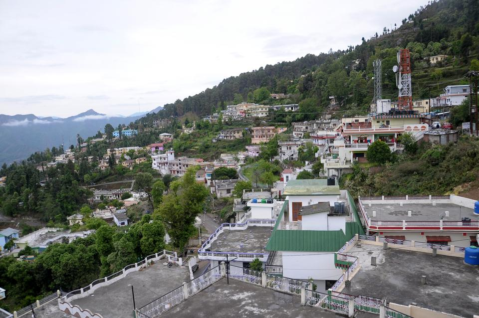 Pauri town in Uttarakhand has not seen any development since the formation of the hill state in 2000.