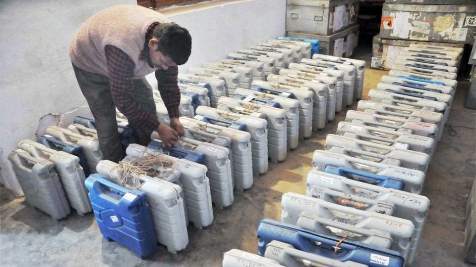 EVMs,AAP,Election Commission