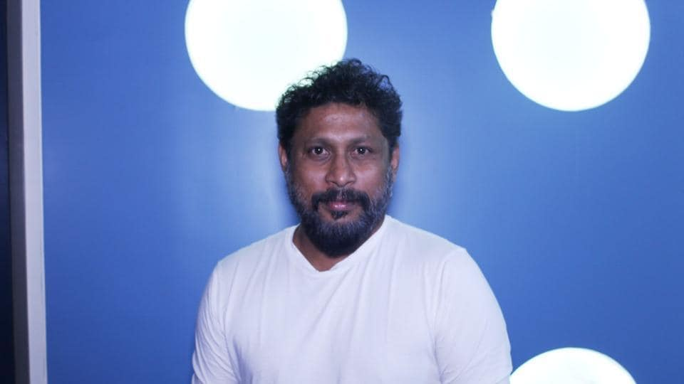 Shoojit Sircar during the promotional interview of short film The Pressure.