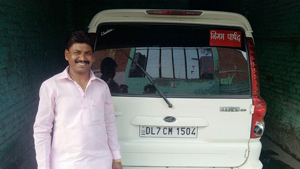 Ramkumar, councillor from Loni in Ghaziabad, was arrested for posting a derogatory picture of Yogi Adityanath.