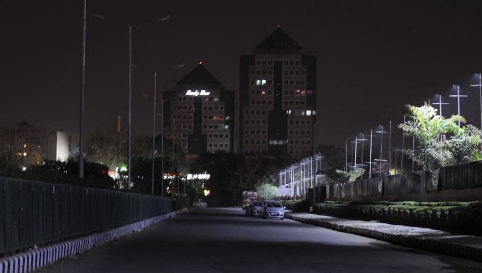 Rain and thunderstorm on Wednesday night brought doen temperature in Gurgaon, but led to eight-hour long power cuts across the city.