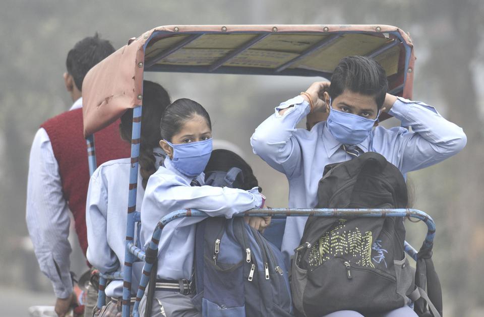 Delhi smog,Delhi Schools,Environmental eduation