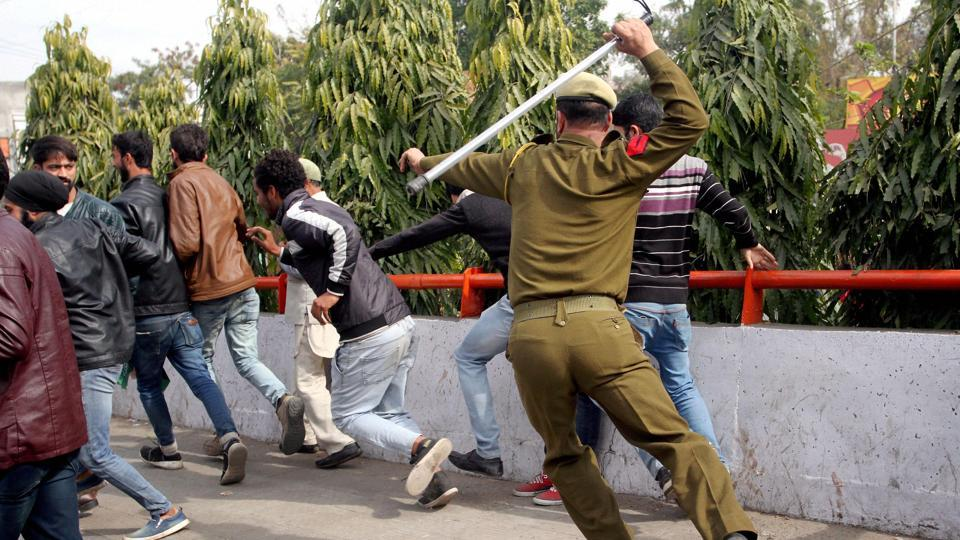 """Jammu and Kashmir police say miscreants allegedly uploaded and shared videos and posted them to """"harm the repute"""" of the officers."""