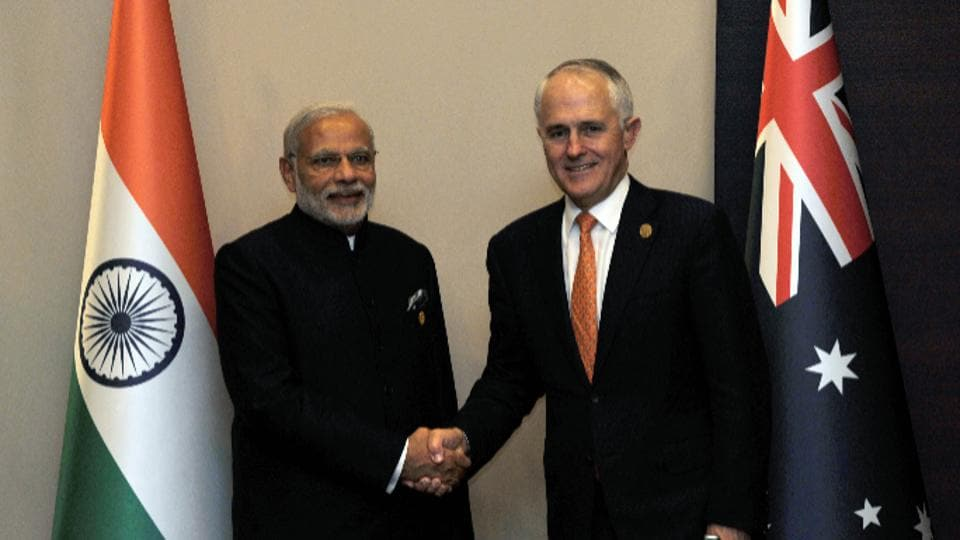 India-Australia relations,Prime Minister Malcolm Turnbull,Turnbull to visit India