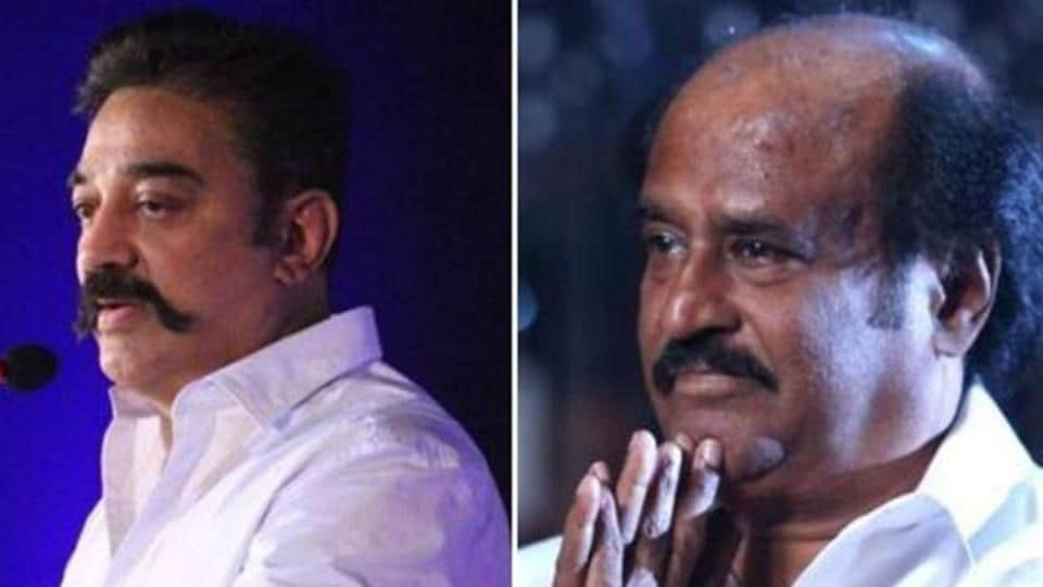 'Kamal does not have money': Rajini at Chandrahasan memorial meet