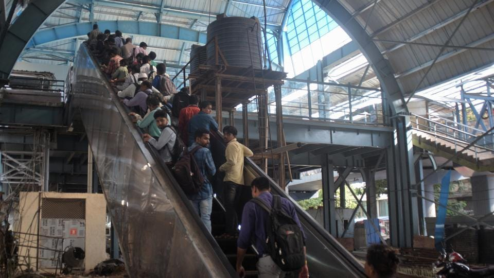 Presently, CR has 15 and WR has 26 escalators on suburban stations.