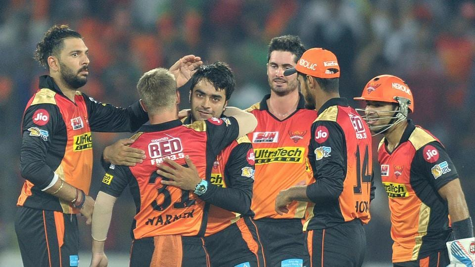 Rashid Khan, the 18-year-old Afghanistan legspinner, picked up 2/36 as Sunrisers Hyderabad secured a 35-run win over Royal Challengers Bangalore in the opening game of the 2017 Indian Premier League.
