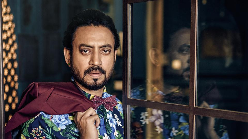 Irrfan says he was shocked to see the veteran actor looking so frail in the picture.
