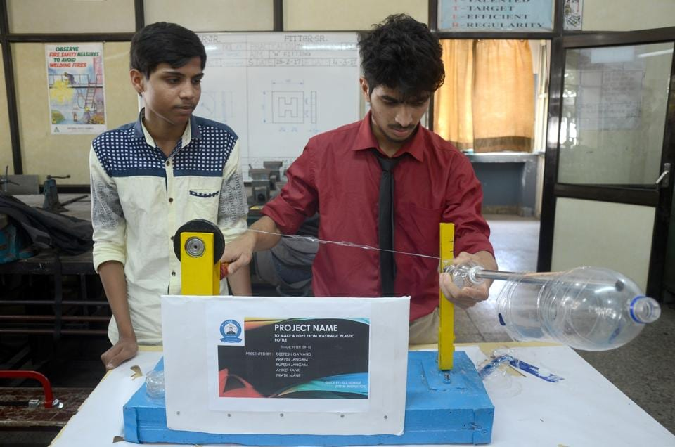 File photo of a technical exhibition at Fr. Agnel ITI at Vashi in Navi Mumbai.  The quality standards of ITIs will now be audited by the IITand NIT.