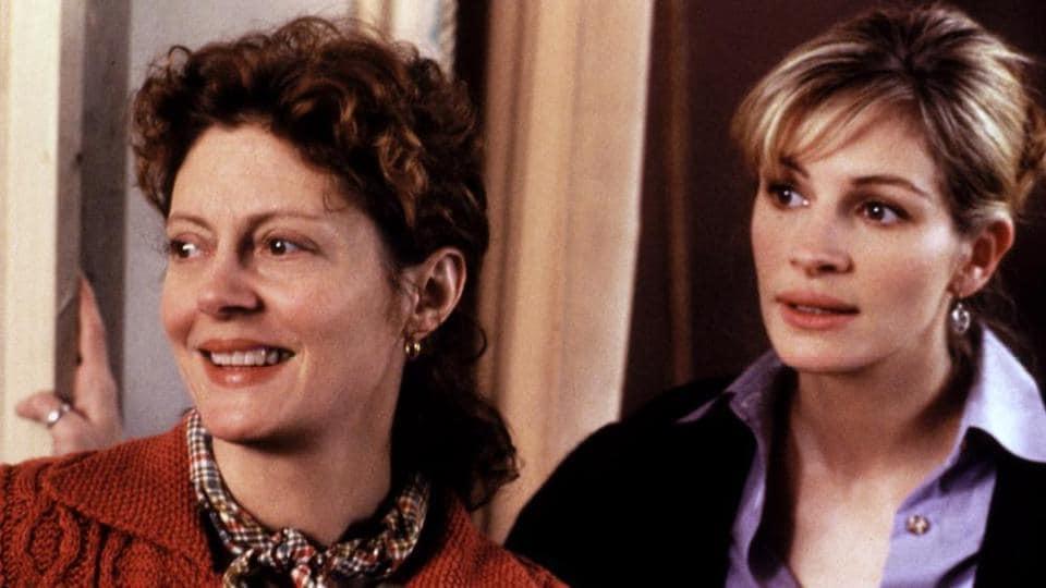 Stepmom starring Susan Sarandon and Julia Roberts released in 1998.