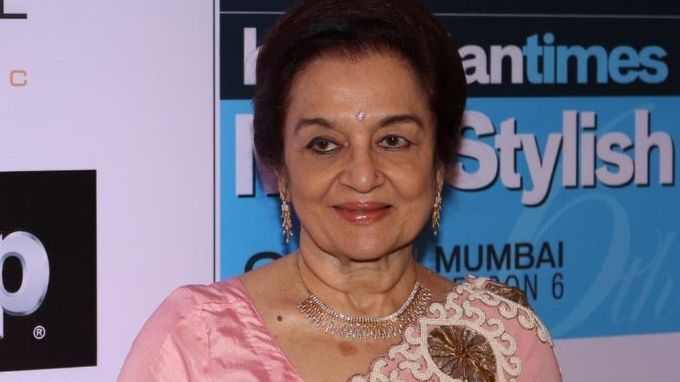 Asha Parekh during the HT Most Stylish Awards function in Mumbai.