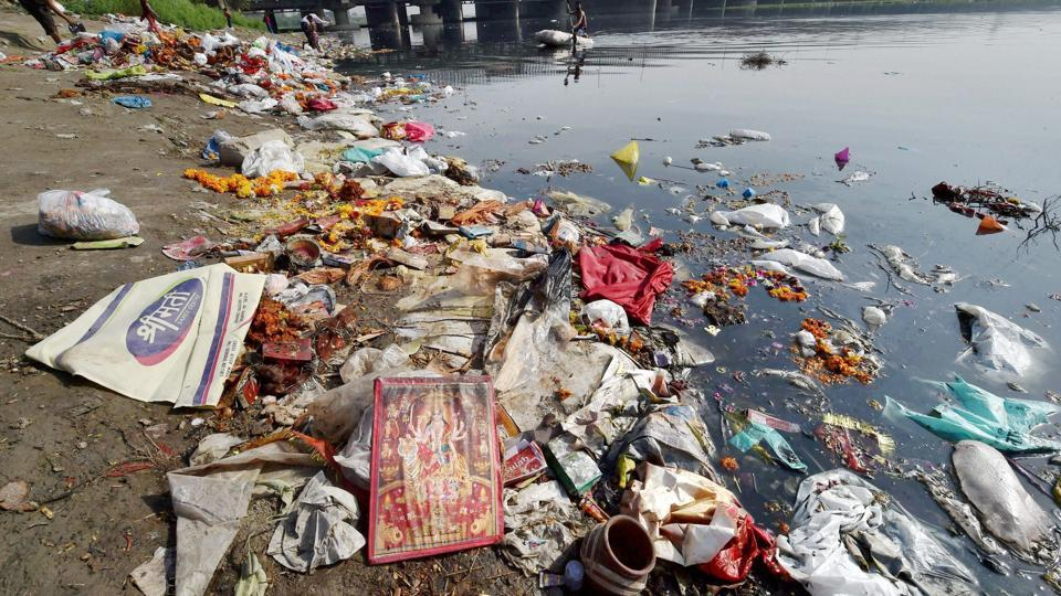 Recently, the Uttarakhand high court declared the Ganga and Yamuna living entities, bestowing on them same legal rights as a person, a move that could help in efforts to clean the pollution-choked rivers. (Manvender Vashist  / PTI)