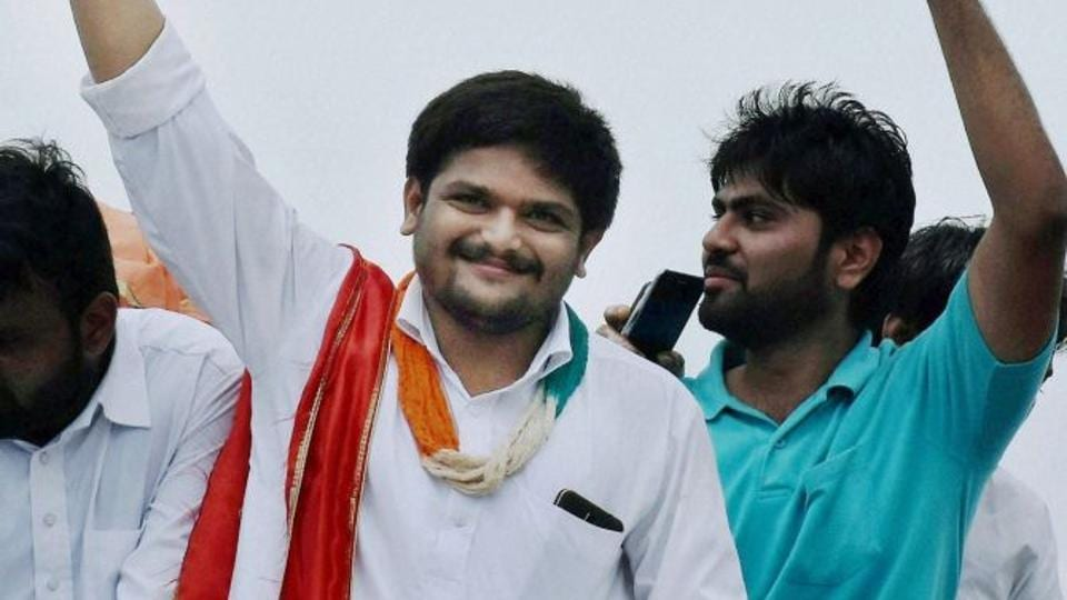 """Chirag has announced to form a political party """"to provide a better political alternative to BJP and Congress,"""" and achieve the goal of getting reservation for the Patel community under the OBC quota."""