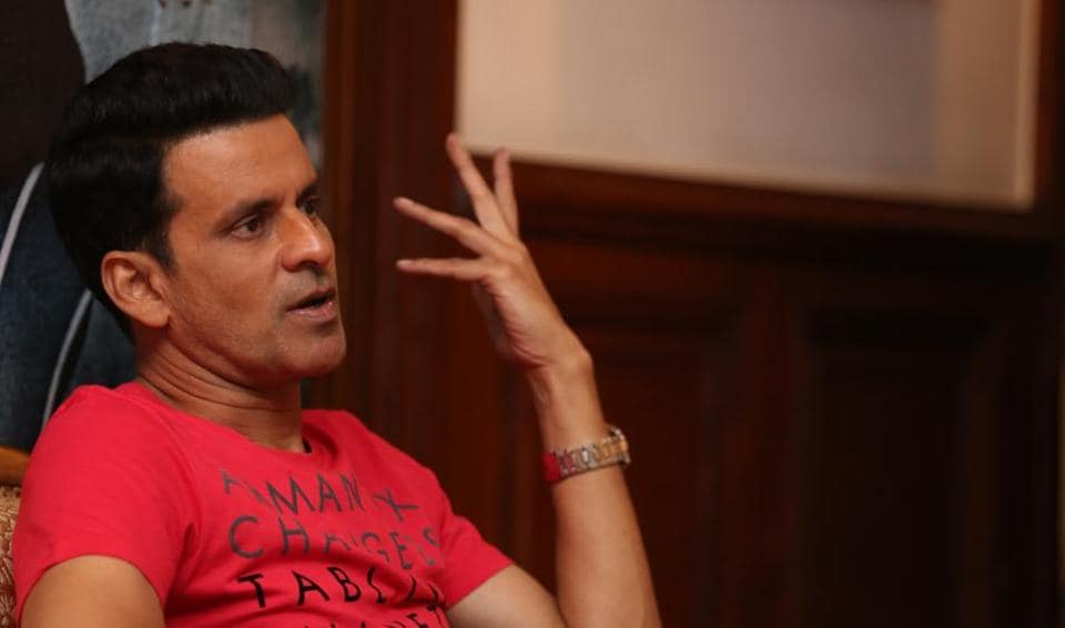 Actor Manoj Bajpayee says that he plays different characters, so a character's profession doesn't matter.