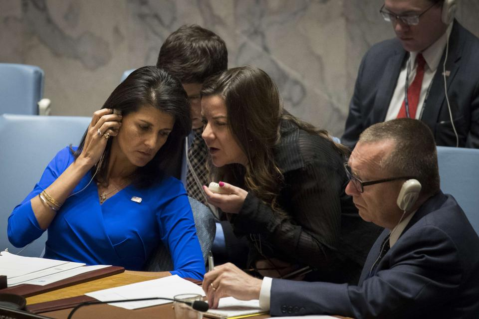 Nikki Haley,United Nations,US envoy to UN