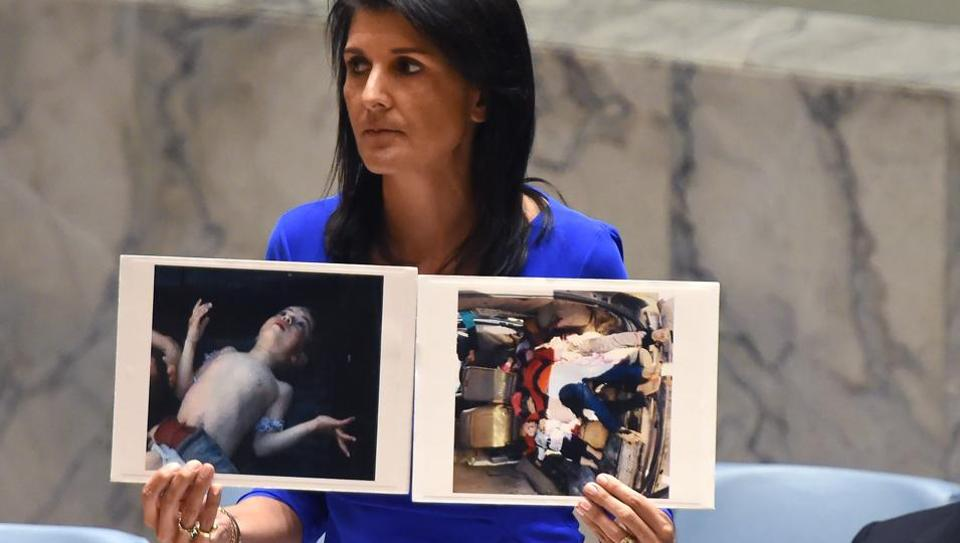 Nikki Haley,Syria chemical attacks,Donald Trump