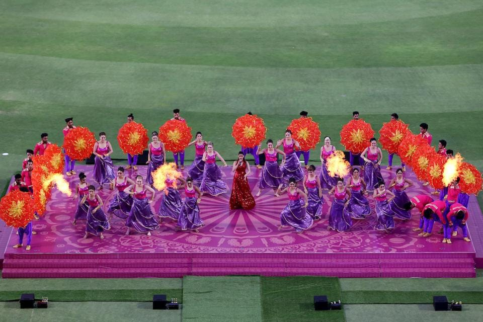 Spectators were offered traditional performances in Maharashtrian style. (BCCI)