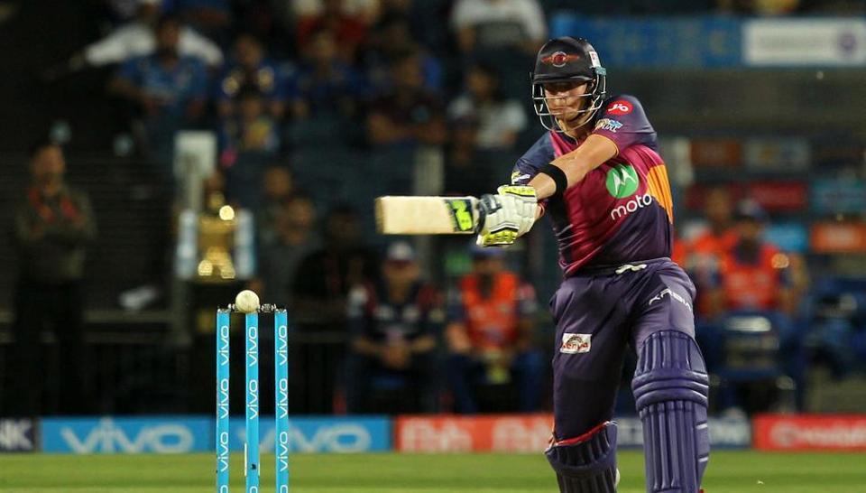Steve Smith's unbeaten 84-run knock guided Rising Pune Supergiants (RPS) to a 7-wicket win over Mumbai Indians (MI) in their opening encounter of the 2017 Indian Premier League (IPL).
