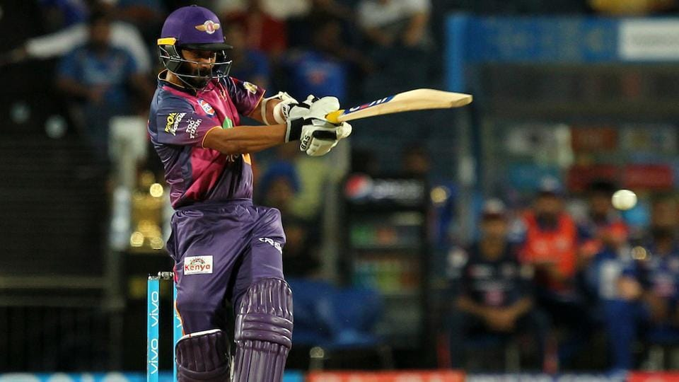 Ajinkya Rahane also scored a fifty for Rising Pune Supergiants. (BCCI)