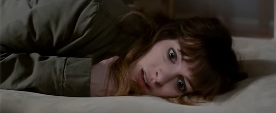 Anne Hathaway is uninhibited yet subtle in her role as an out-of-work alcoholic with strange ties to a monster in Seoul.