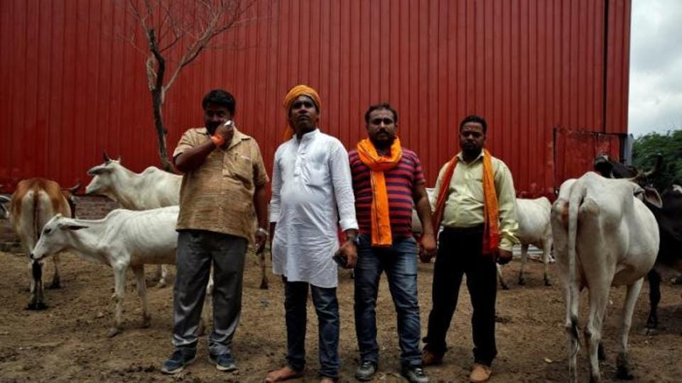 The Congress criticised Prime Minister Narendra Modi on Friday for not speaking out against the self-styled cow vigilantes who were beating and killing people on the pretext of cow protection.