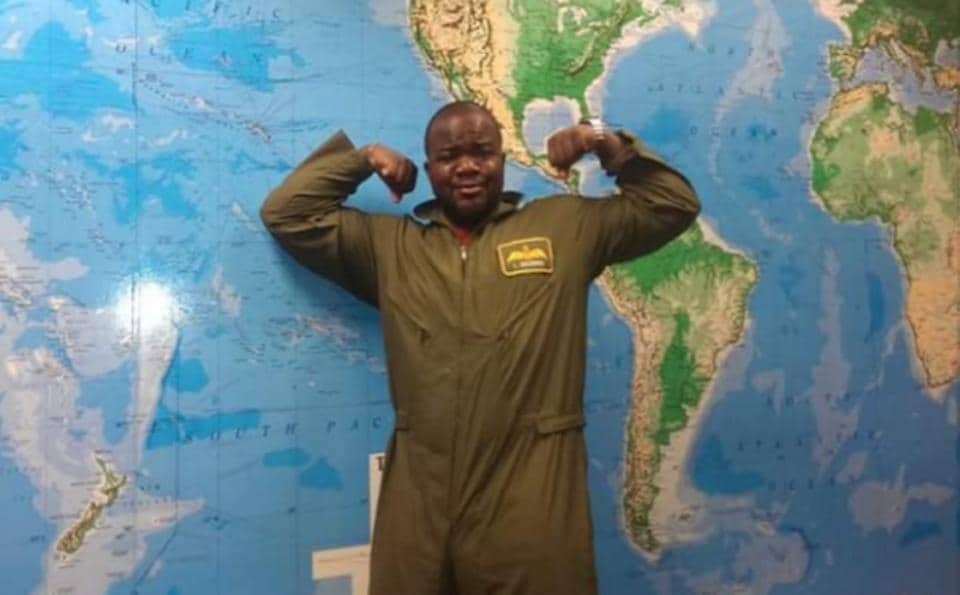 Ademola Odujinrin left Washington in September last year and stopped in more than 15 countries on five continents during the journey.
