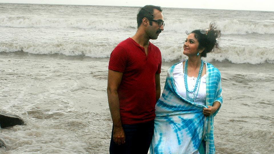 Ranvir Shorey and Gracy Singh in a still from Blue Mountains.