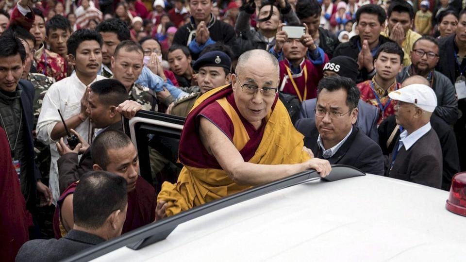 Dalai Lama,Tawang,China Dalai Lama