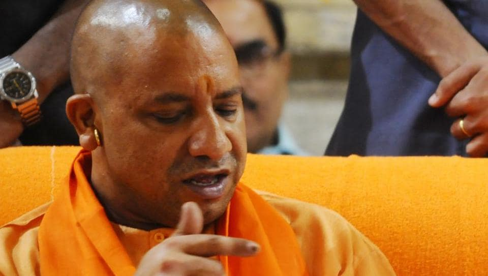 Yogi Adityanath held his first meeting after becoming CM with officials of all seven industrial development authorities of UP and the state industrial development corporation.