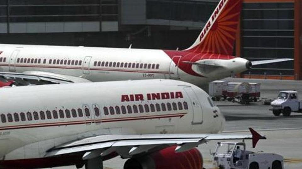 A near collision was averted as an Air India and an IndiGo aircraft came face-to-face at Delhi airport.