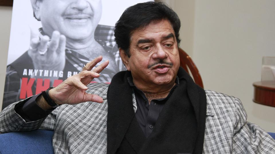 Actor Shatrughan Sinha talks about breaking the law by banning an MLA from taking flights.