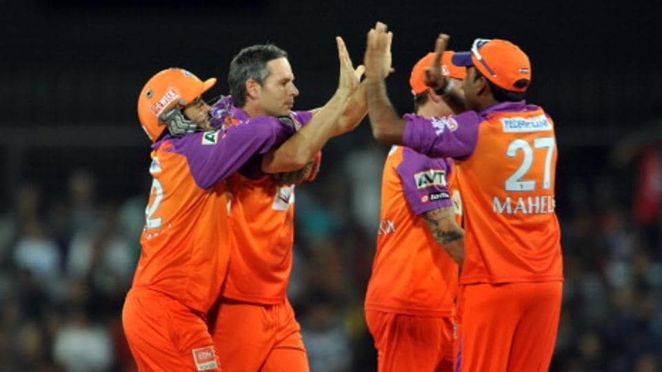 Indore had last served as home for the Kochi Tuskers Kerala team during the IPLin 2011.