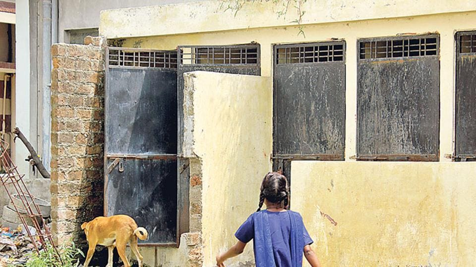 The 2011 Census reveals that only 25.4% households in rural India have bathrooms compared to the 19.7% who do not have a roof over their heads. The balance 55% has no private bathing space at all, forcing women to bathe in the open.