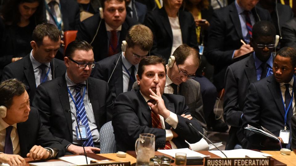 UN Security Council,US Air Strikes,Syria