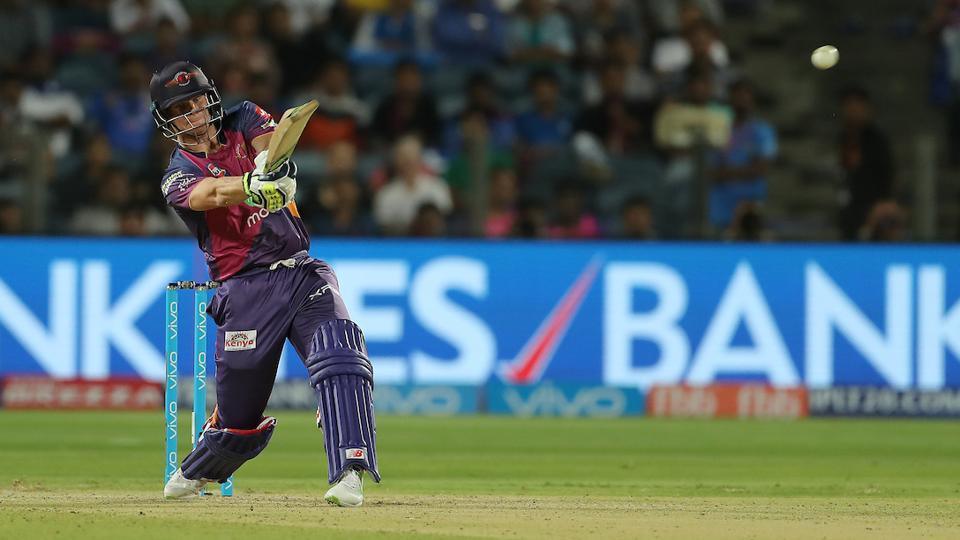 Steve Smith scored a match-winning 84 for Rising Pune Supergiants against Mumbai Indians. (BCCI)
