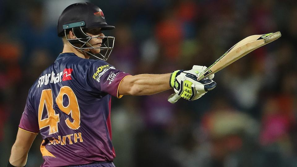 It was a truly a captain's knock from Rising Pune Supergiants skipper Steve Smith. (BCCI)