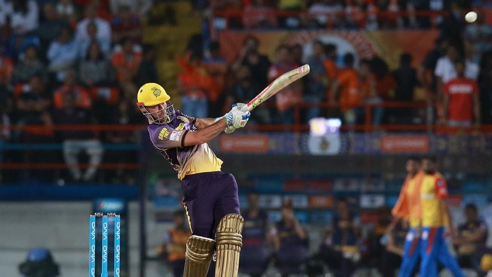 Chris Lynn's unbeaten 93-run knock helped Kolkata Knight Riders (KKR) pummel Gujarat Lions (GL) by 10 wickets  in their opening game of the 2017 Indian Premier League (IPL) at Rajkot. Get full cricket score of Gujarat Lions vs Kolkata Knight Riders IPL 2017 T20 match here