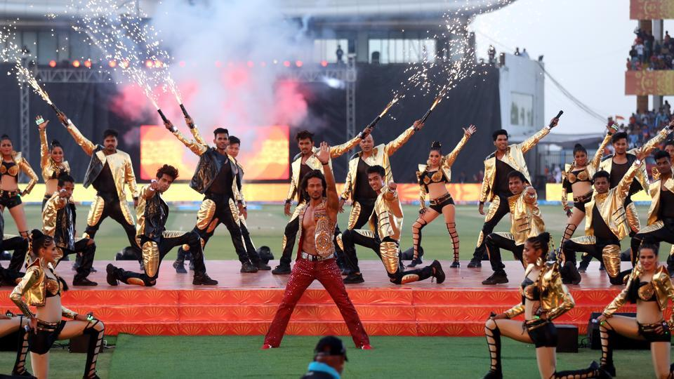The Rajkot leg of the Indian Premier League 2017 got off to a rousing start with Bollywood actor Tiger Shroff shaking a leg at the opening ceremony at the Saurashtra Cricket Association Stadium in Rajkot on Friday.  (BCCI)