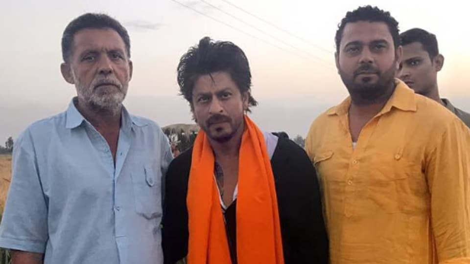 Shah Rukh Khan was shooting in Nurmahal, about an hour's drive from Jalandhar, for his movie, The Ring, directed by Imtiaz Ali.