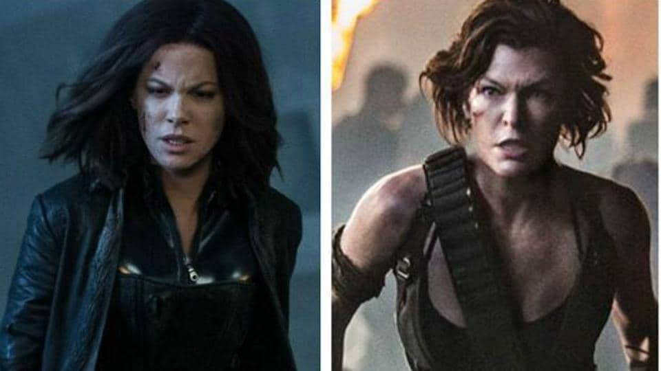 Female Centric Movies,Resident Evil,Underworld