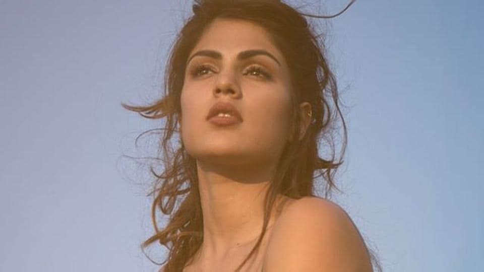 Actor Rhea Chakraborty was seen in Mere Dad Ki Maruti.