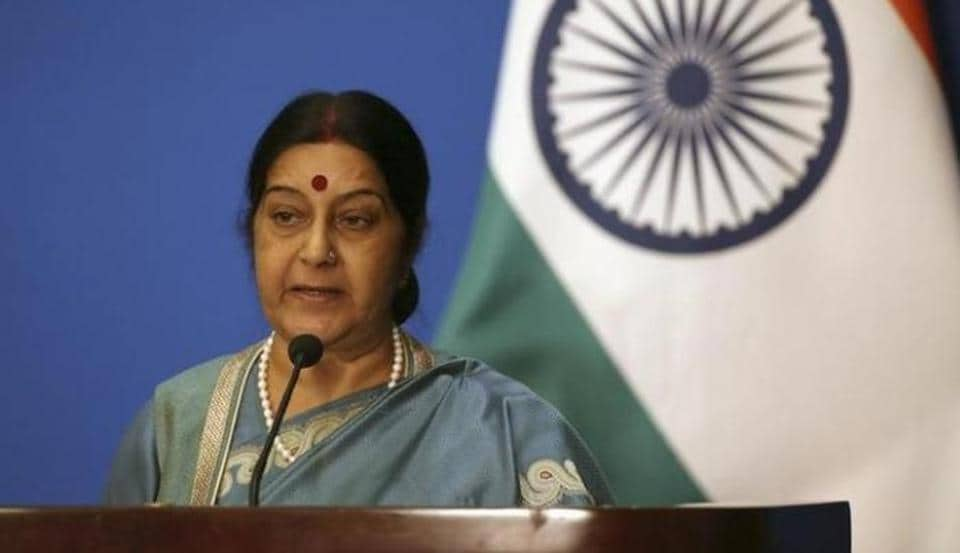 Indian external affairs minister Sushma Swaraj said in a string of tweets that the government was in touch with US agencies in the shooting of Vikram Jaryal.