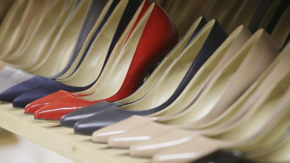 The provincial government said the requirement to wear high heels at some workplaces was a health and safety issue.