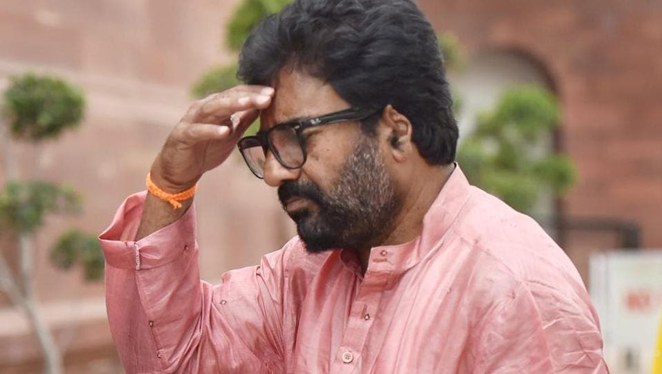 Shiv Sena MP Ravindra Gaikwad had allegedly hit an Air India employee 25 times with slippers over refusal of a business class seat.