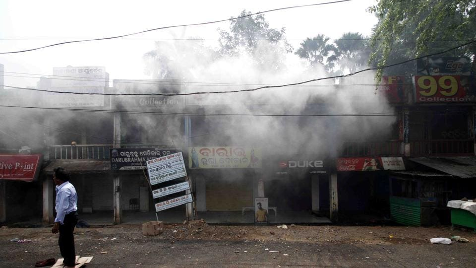 Bhadrak last saw a riot in March 1991 on the day of Ram Navami when a religious procession of Hindus had a scuffle with a Muslim bystander. (Arabinda Mahapatra/HTPhoto)
