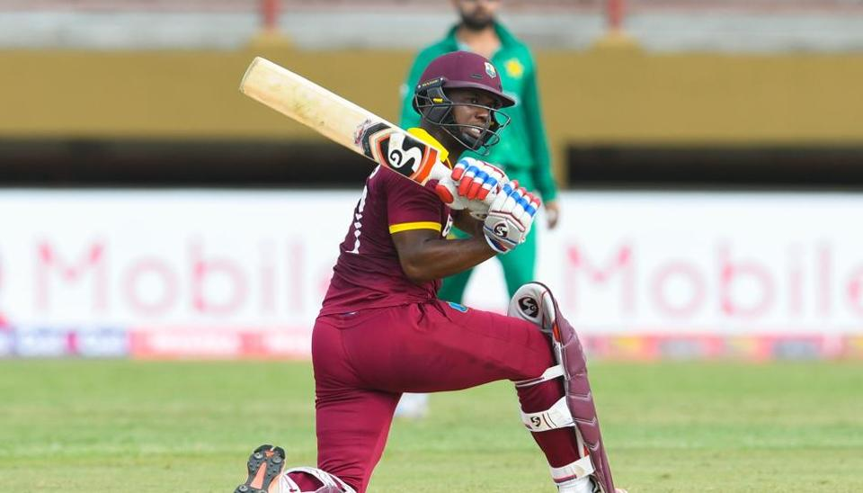 West Indies chased down a total of 300 for the first time in their 44-year ODI history during the clash against Pakistan in Providence, Guyana.