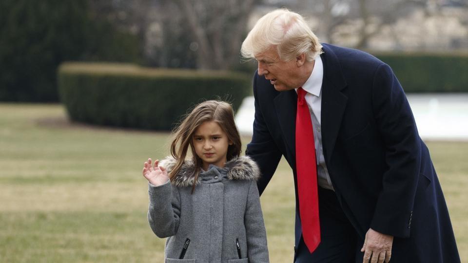 Watch: Trump's granddaughter Arabella floors Chinese ...