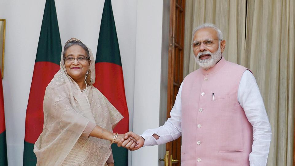 Bangladesh PM Sheikh Hasina gets ceremonial welcome at Rashtrapati Bhawan in Delhi