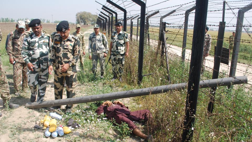 The drug smugglers have been keeping Border Security Force personnel on their toes.