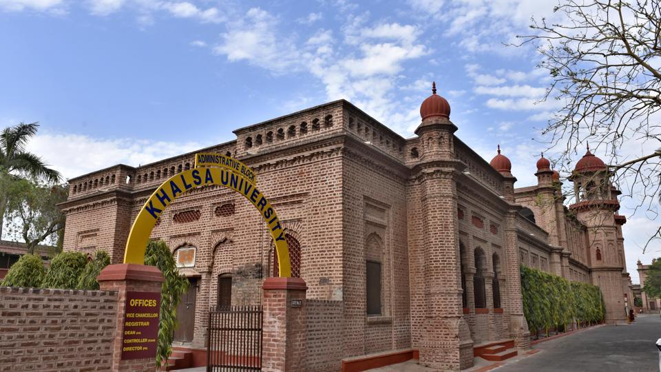 Khalsa University in Amritsar.